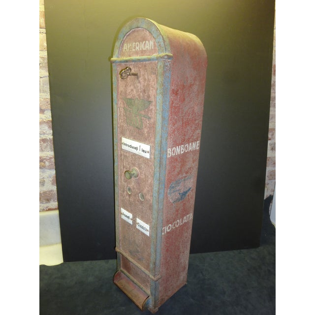 Bombon And Chocolate Pre-War Vending Machine - Image 3 of 5