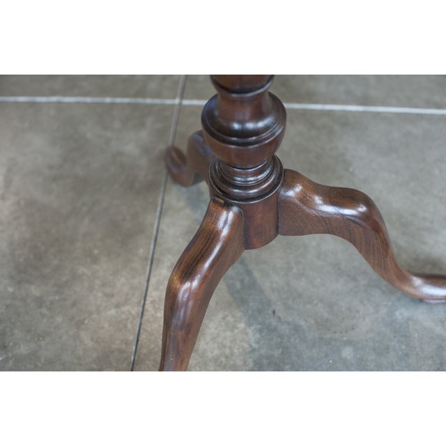 Image of Baker Tripod Pedestal Side Table