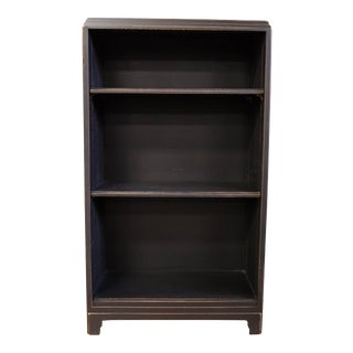 Handsome Charcoal Black Antique Bookshelf