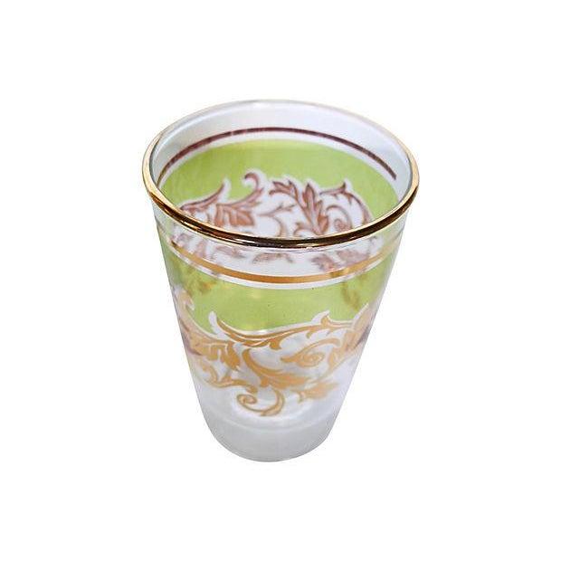 Midcentury Holiday Beverage Glasses - Set of 8 - Image 6 of 6