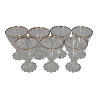 Midcentury Cocktail Glasses S/7