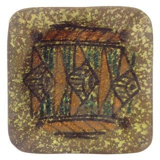 Gamboni Style Fish Design Ceramic Tray