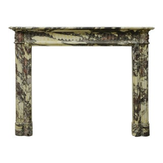Beautiful 19th Century Rare Louis XVI Breche Violet Marble Fireplace