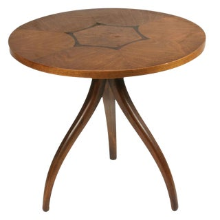 Drexel Inlaid Topped Tripod Gueridon Table