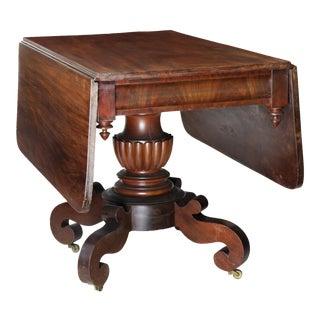 Gothic Mahogany Pedimented Breakfast Table