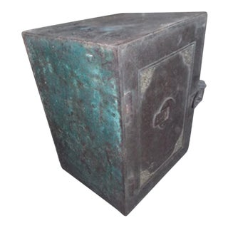 Antique Iron Safe From India