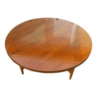 Jese Mobel Mid-Century Danish Modern Teak Round Coffee Table