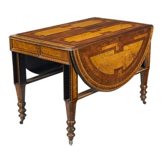 George W. Ahrens Drop-Leaf Table