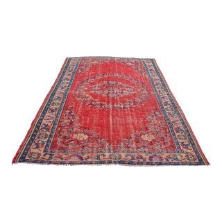 Turkish Handmade Wool Carpet - 6′5″ × 9′6″