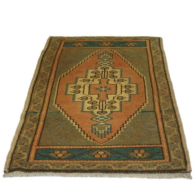 "Vintage Kurdish Carpet - 1'11"" X 3'3"" - Image 2 of 2"