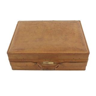 Hartmann Leather Suitcase