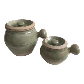 Thai Rice Pots - a Pair