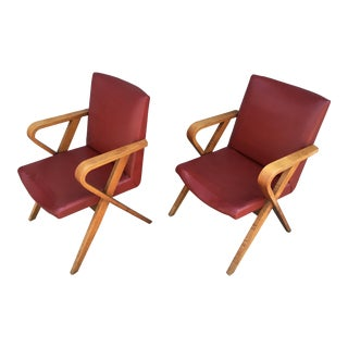 Howard Hughes Studio Screening Room Chairs -A Pair