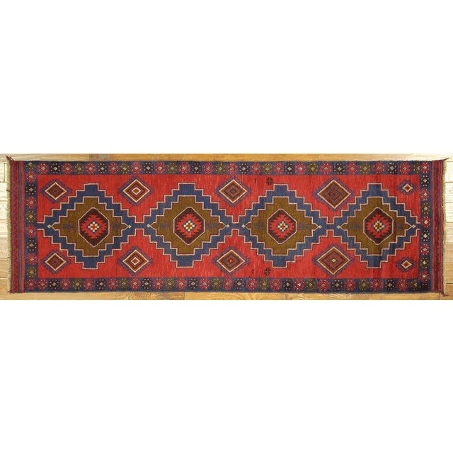 "Persian Tribal Baluch Runner Rug - 2'6"" x 9' - Image 2 of 7"
