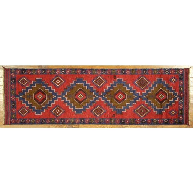 "Image of Persian Tribal Baluch Runner Rug - 2'6"" x 9'"