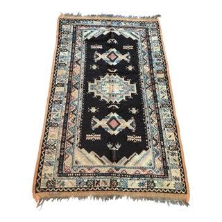 "Vintage Moroccan Taznakht Wool Rug - 5'1"" X 8'5"""