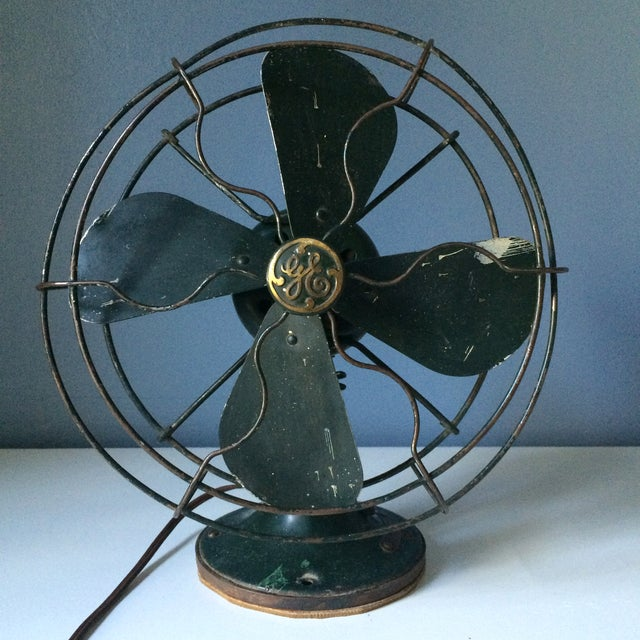 Vintage GE Industrial Table Fan - Image 2 of 10