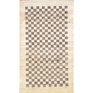 Persian Gabbeh Rug - 4′0″ × 6′10″