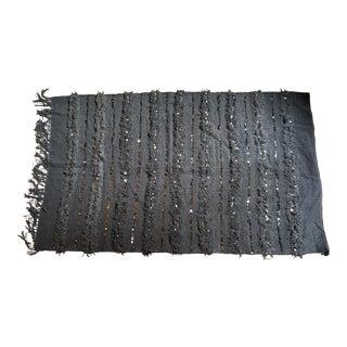 Handmade Grey Moroccan Rug - 3′10″ × 6′6″