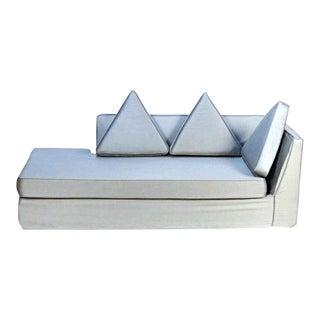Mid-Century Modern Recamier Chaise Lounge