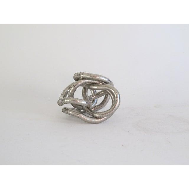 Silver Knot Objet - Image 2 of 4