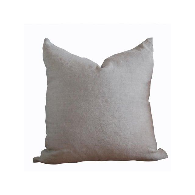 Image of 'Ana' Indigo & Leather Mud Cloth Pillow
