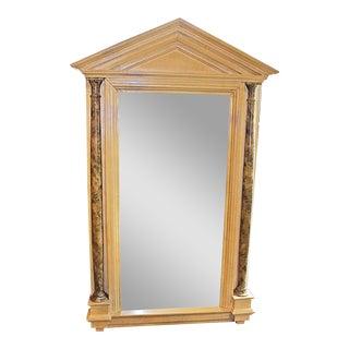 Empire Style Tall Pillared Mirror