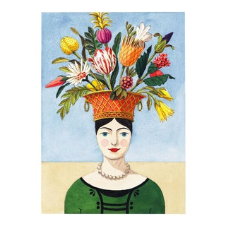 """The Flower Lady"" Giclée Print"