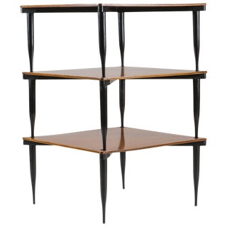 """Set of Three """"T8"""" Stackable Tables by Vico Magistretti for Azucena"""