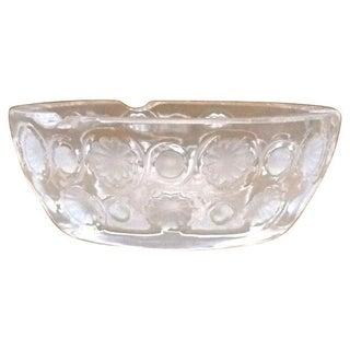 Vintage Tokyo Pattern Crystal Lalique Dish