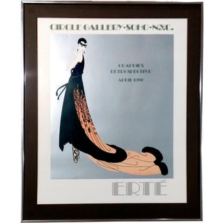 "Erte 1978 ""Splendeur"" Exhibition Poster"