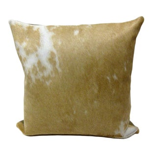 Brazilian Cowhide & Leather Pillow