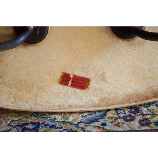 1950s Eames Venice Label Parchment Chair - Image 5 of 7