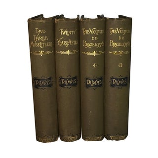 The Three Musketeers by Alexander Dumas - Set of 4