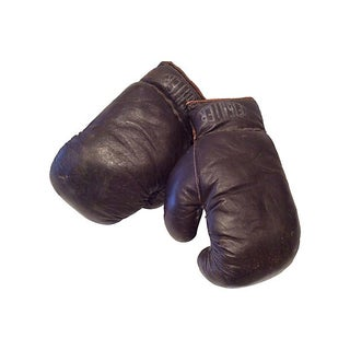 1940 Leather Boxing Gloves