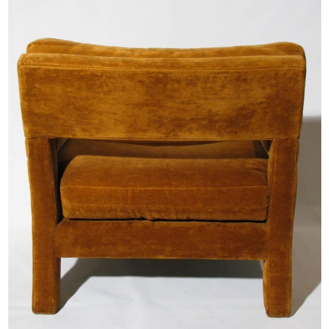 Image of Caramel Lounge Chairs by Milo Baughman- A Pair