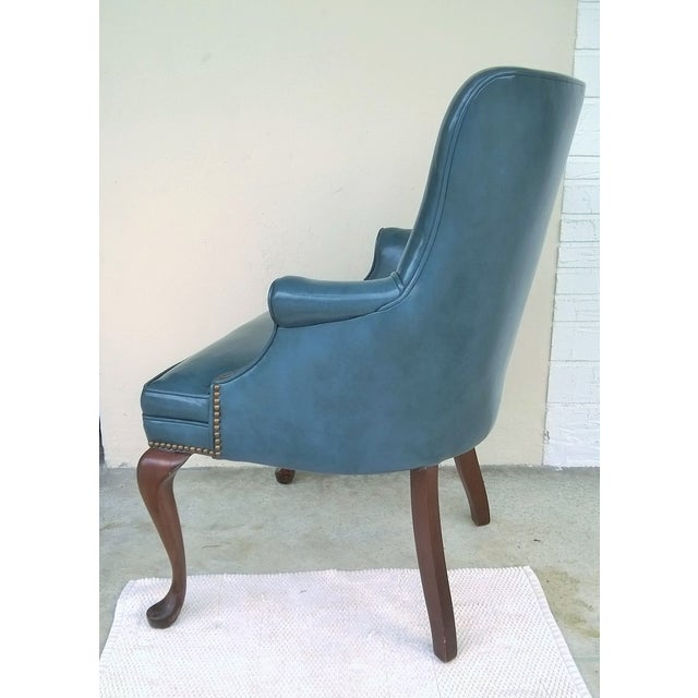 Image of Vintage Nail Head Accent Chair