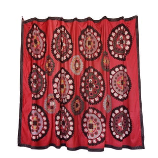 Royal Red Suzani Tapestry