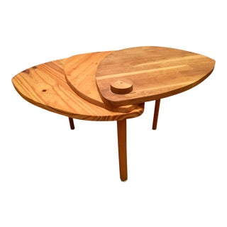 French Flower Wood Table
