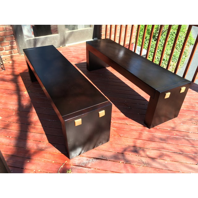 Environment Furniture Paulista Benches - A Pair - Image 2 of 3