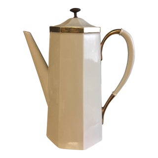 Mid-Century Coffee Pot