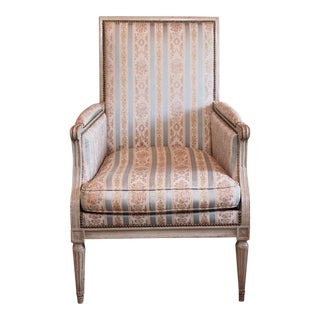 Louis XVI French Painted Bergere
