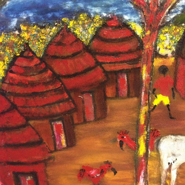 Original African Painting - Image 5 of 8