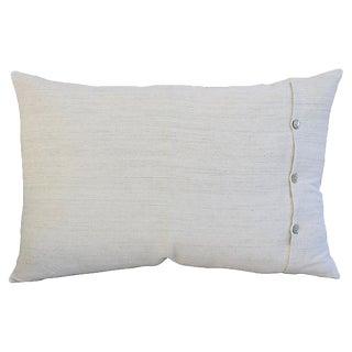 Custom Tailored Homespun Belgian Linen Feather/Down Pillow