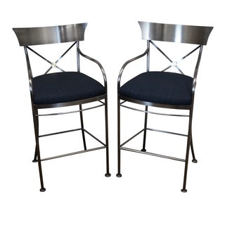 Design Institute of America DIA Bar Stools - Pair
