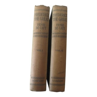 Antique 1916 'Frederick the Great' Books - A Pair