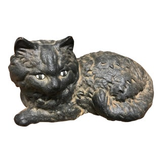 Iron Cat Door Stop