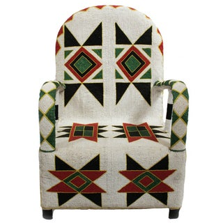 Nigerian Beaded Arm Chair