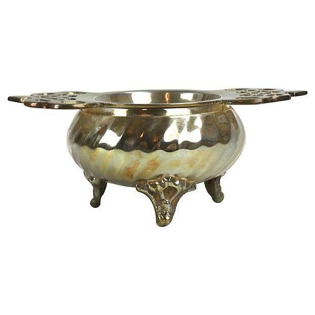 Silver Plate Loose-Leaf Tea Strainer - Image 3 of 3
