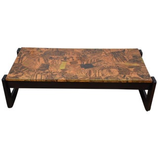 Percival Lafer Copper Coffee Table